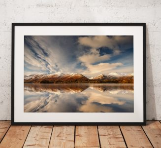 Derwentwater Snow Reflection