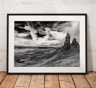 Old Man of Storr-mono
