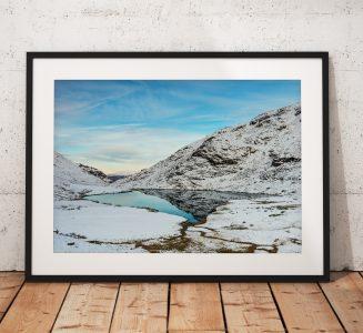 Styhead Winter Mountains